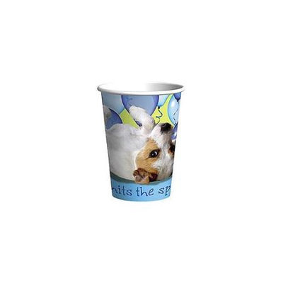 Us Toy Party Pups 9 Oz Hot/cold Cups Pkg/8