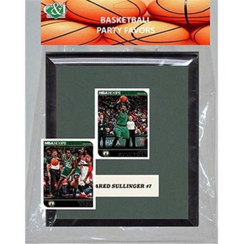 Candicollectables Candlcollectables 67LBCELTICS NBA Boston Celtics Party Favor With 6 x 7 Mat and Frame