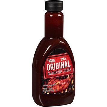 Great Value: Original Barbecue Sauce, 18 Oz
