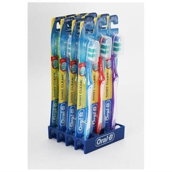 Oral-b 12 Pack - Shiny Clean Soft 35 Toothbrush Package