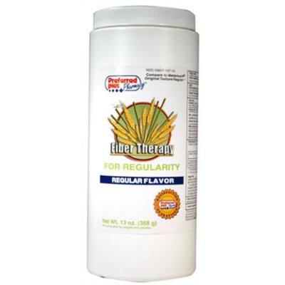 Fiber therapy powder regular for regularity - 13 Oz