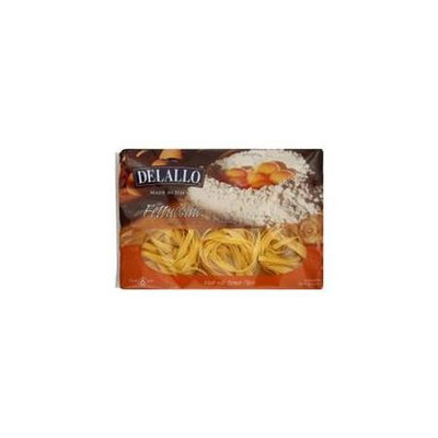 Delallo Pasta Egg Fettuccine 8.8 OZ (Pack Of 12)