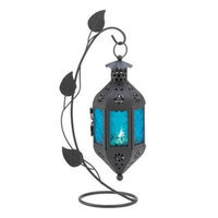 Koolekoo Home Locomotion 10014933 Sapphire Bloom Candle Stand