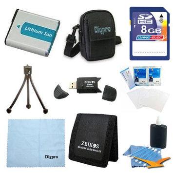 Special 8GB Card & NP50 Battery Value Kit - Fujifilm F600EXR, F660EXR, F750, F770