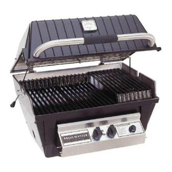 Broil-mate Broilmaster P4XF P4 Premium Gas Grill Head with Flare Buster Briquets