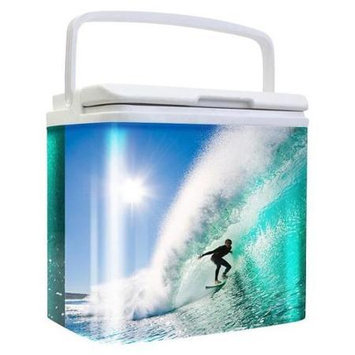 Life 3028191 Tinny Retro Tin Cooler Surfer