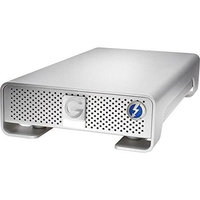G-Technology 6TB G-Drive USB External Hard Drive with Thunderbolt, 7200 RPM, 226MBps Data Transfer Rate