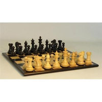 WW Chess 40BEDQ-BBM Black Exclusive Set - Chess Set Wood