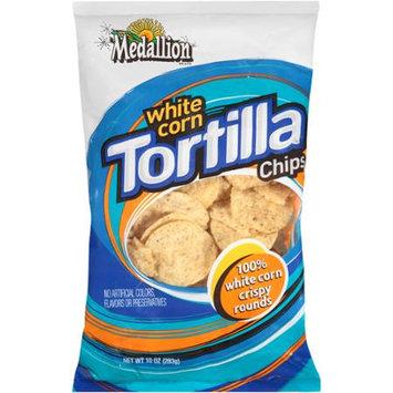 Medallion: White Corn Tortilla Chips, 11 Oz