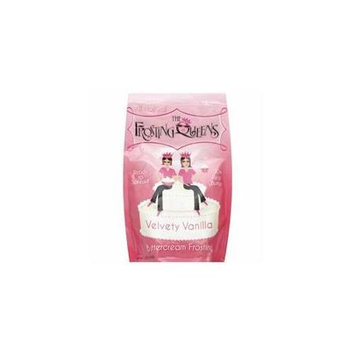 The Frosting Queens Velvety Vanilla Frosting 12 Ounce (Pack of 6)