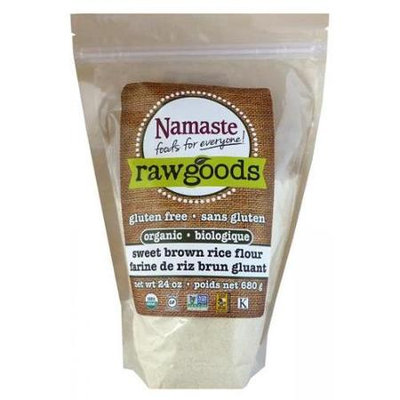 Namaste Foods Organic Sweet Brown Rice Flour 6 pack