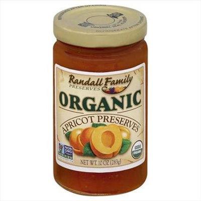 Randall Family Preserves 10 oz. Organic Apricot Preserves Case Of 6