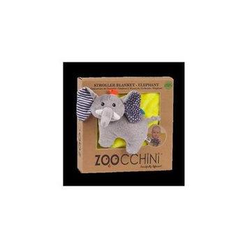 Zoocchini 14001 Baby Buddy Blanket with Elephant Yellow
