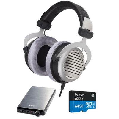 BeyerDynamic DT 990 Premium Headphones 250 OHM w/ FiiO E12 Pro Amplifier Bundle