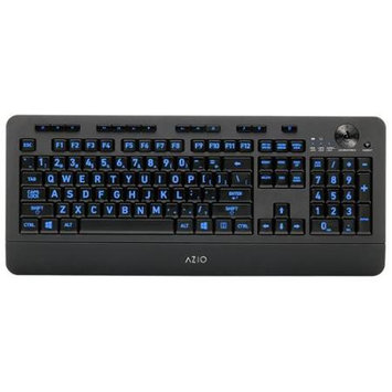 Azio Corporation AZIO KB506W Wireless Backlit Keyboard