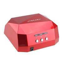 Image Led CCFL Nail Dryer Diamond Shaped Curing UV Machine For UV Gel Nail Art Lamp