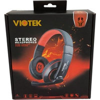 Viotek VT849 Headphone - Stereo - Mini-phone - Wired - 32 Ohm - 20 Hz 20 kHz - Over-the-head - Binaural - Circumaural