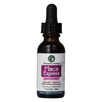 Amazing Herbs - Maca Express Liquid Extract - 1 oz.