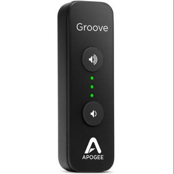 Apogee Electronics Groove portable USB DAC and headphone amp for Mac or PC.