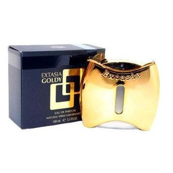 New Brand awextg34s 3.4 Oz. Extasia Goldy Eau De Parfum Spray For Women
