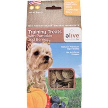 Elive. 034261 Training Dog Treats - Pumpkin-Berry 8 Oz.