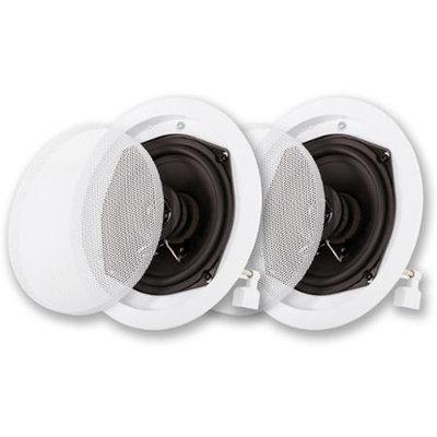 Acoustic Audio R191 400 Watt Pair 2-Way In-Wall/Ceiling Home Speakers