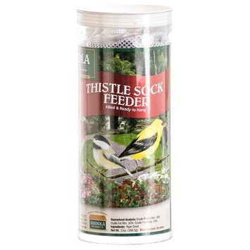 Birdola Products Birdola 13 Oz Thistle Sock Feeder 54358 - Pack of 12