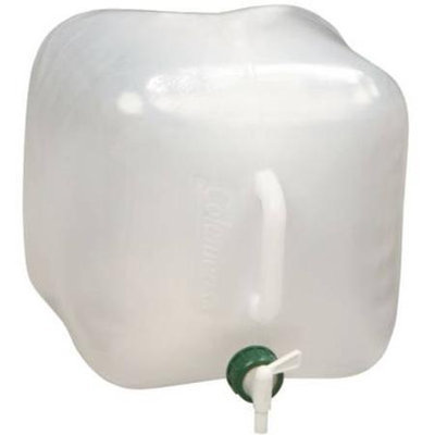 COLEMAN 809E602T Collapsible Water Jug, 2-1/2 gal.