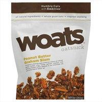 Woats 10 oz. Oatsnack Peanut Butter Graham Slam - Case Of 9