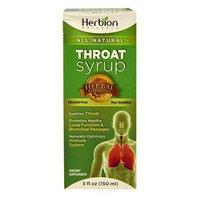 Herbion Naturals 5 Fl oz. Syrup Throat Case Of 1