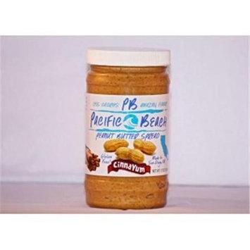 Pacific Beach Peanut Butter 020444 Cinnayum Peanut Butter Spread - Case Of 6