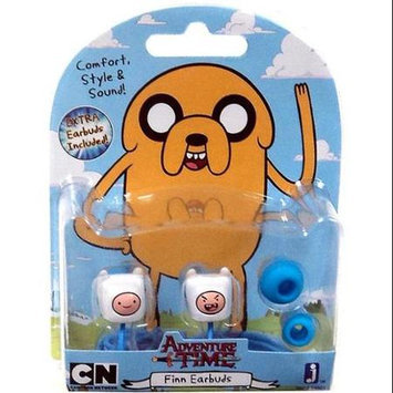Jazwares, Inc Adventure Time Finn Ear Bud Headphones