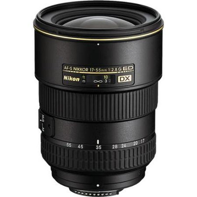 Nikon 17-55mm f/2.8G IF-ED AF-S DX Zoom Lens