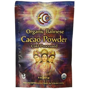 Earth Circle Organics - 100 Raw Balinese Cacao Powder - 8 oz.