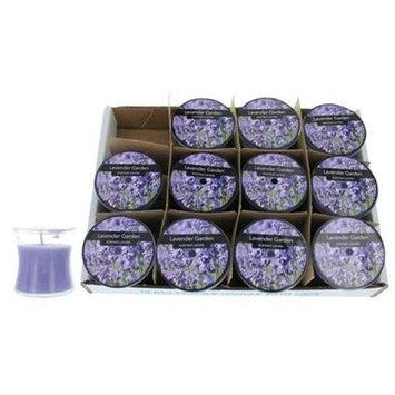 Candle c25hglg Lavender Garden 2.5 Oz. Hour Glass 12 Pack