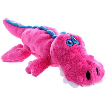 Quaker Pet Group Quaker Pet Go Dog Gators Dog Toy Small Pink 774022