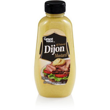 Great Value: Dijon Mustard, 12 oz