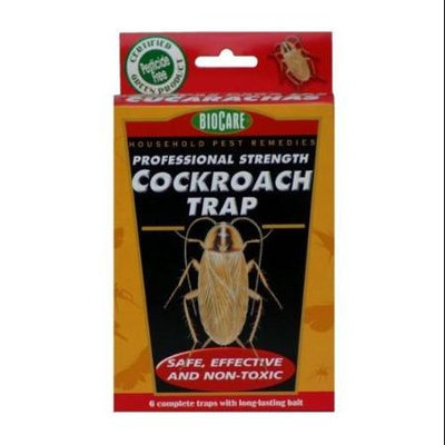 Biocare & Oakstump Farms BioCare Cockroach Trap, set of 6