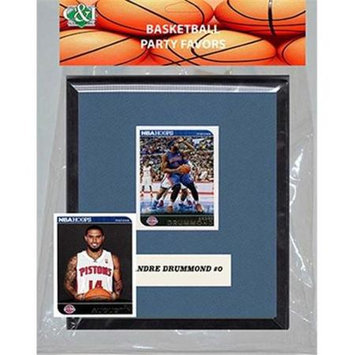 Candicollectables Candlcollectables 67LBPISTONS NBA Detroit Pistons Party Favor With 6 x 7 Mat and Frame