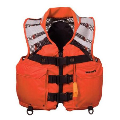 Kent Sporting Goods 151000-200-050-12 Kent Mesh Search and Rescue SAR Commercial Vest - XLarge