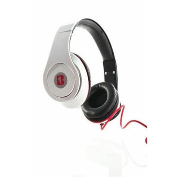 iBoost HP2206WH Stereo Foldable Headphones With Deep Heavy Bass White