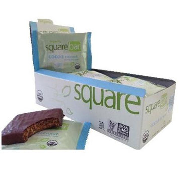 Squarebar BG18432 Squarebar Chocolate Coconut Bar - 12x1.7OZ