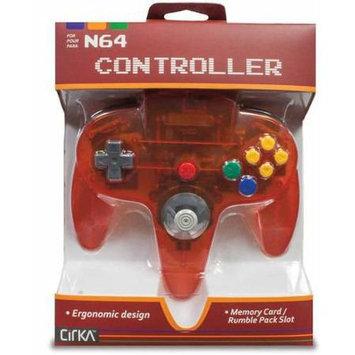 CirKa Nintendo 64 Wired Controller - Fire Red