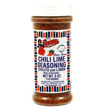 Fiesta Brand Chili Lime Seasoning, 6 oz