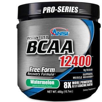 ANSI Advanced Nutrient Science - Instantized BCAA Powder 12400 Watermelon - 450 Grams