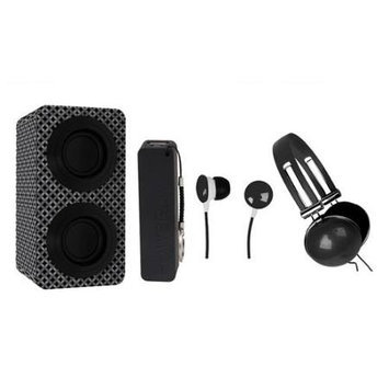 Naxa Nas3061ablack Portable Stereo Bluetooth[r] Speaker Pack [black]