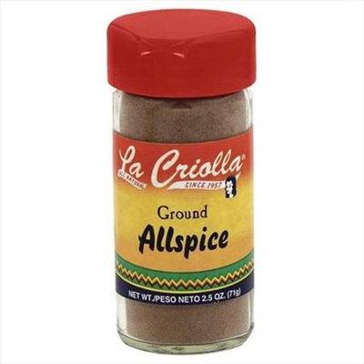 La Criolla 2.5 oz. Ground Allspice Case Of 12