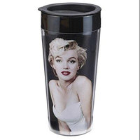 Vandor Marilyn Monroe 16 oz. Plastic Travel Mug