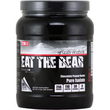 ETB Pure Isolate Whey Protein Chocolate Peanut Butter 2 lbs