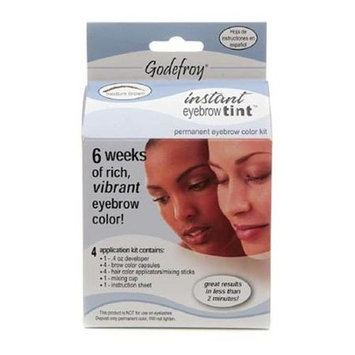 Godefroy R56 28 Day Permanent Eyebrow Color Kit - Medium Brown